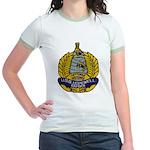 USS HOPEWELL Jr. Ringer T-Shirt