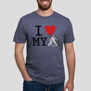 I Love My Goalie (hockey) T-Shirt