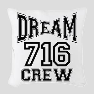 716 crew Woven Throw Pillow