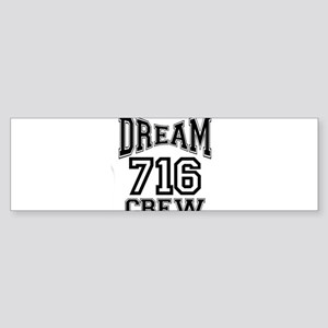 716 crew Bumper Sticker