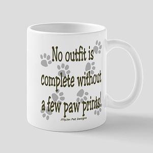 Outfit Paw Prints Mug