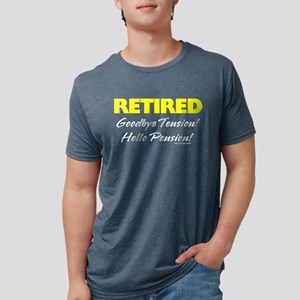 Retired: Goodbye Tension Hell Women's Dark T-Shirt