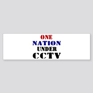 CCTV Bumper Sticker