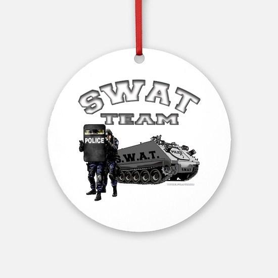 S.W.A.T. Team Ornament (Round)