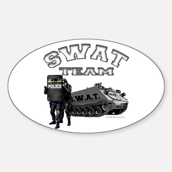 S.W.A.T. Team Oval Decal