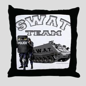 S.W.A.T. Team Throw Pillow