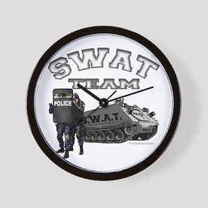 S.W.A.T. Team Wall Clock