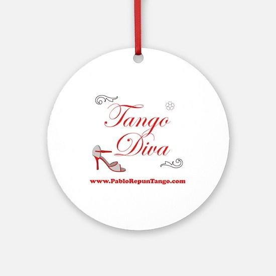 TANGO DIVA Ornament (Round)