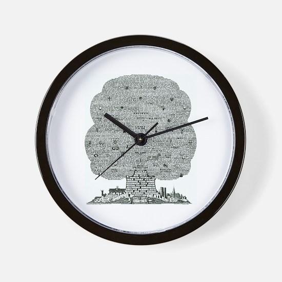 Eighties Wall Clock