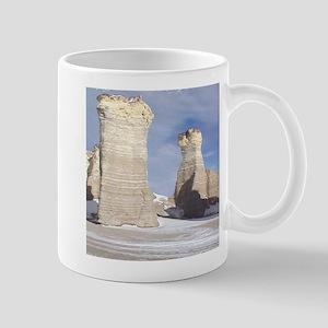 Monument Rocks Kansas Pyramid Mug