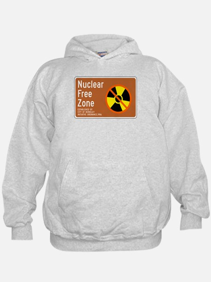 Nuclear Free Zone, USA Hoodie