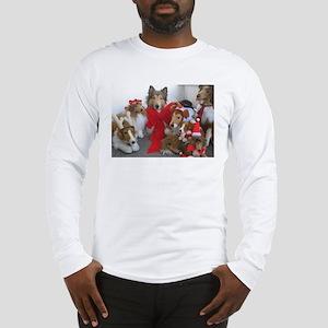 Christmas Collies Long Sleeve T-Shirt