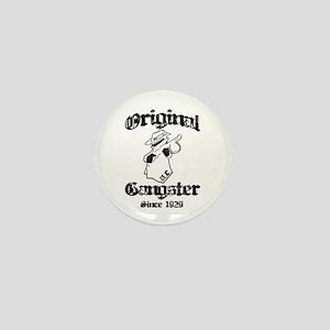 Original Gangster Mini Button
