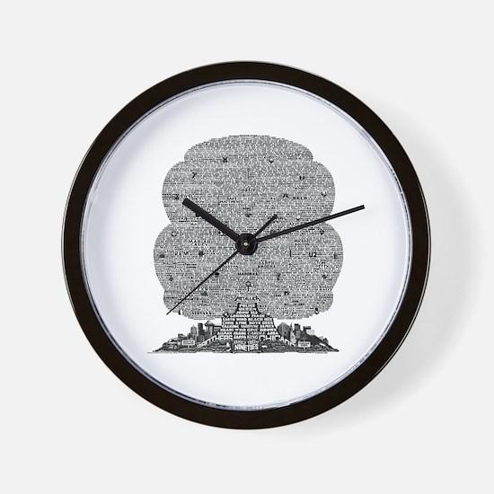 Nineties Wall Clock