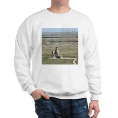 Monument Rocks Kansas Pyramid Sweatshirt