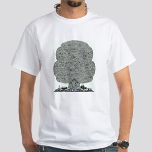 Blues White T-Shirt