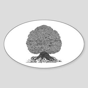 American Rock Oval Sticker