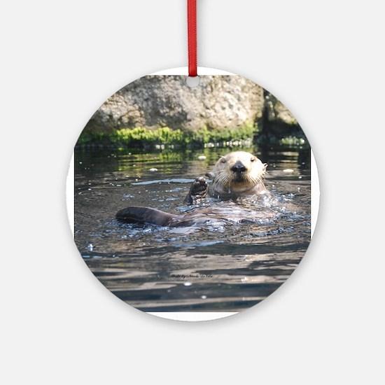 Otter 1 Ornament (Round)