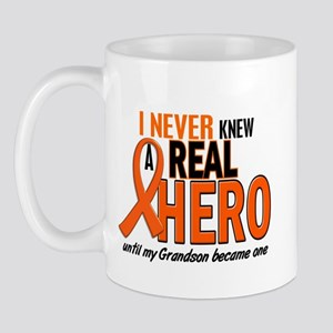 Never Knew A Hero 2 ORANGE (Grandson) Mug