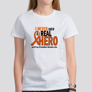 Never Knew A Hero 2 ORANGE (Grandson) Women's T-Sh
