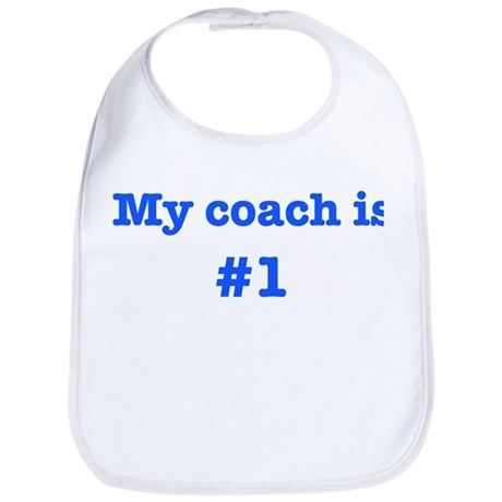 My coach is #1-blue Bib