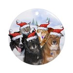 Nikita and family Ornament (Round)