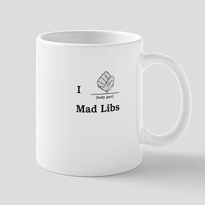 Mad Libs Rock Mug