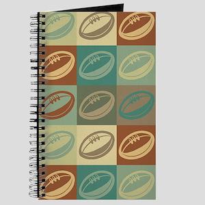 Rugby Pop Art Journal