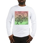 Rudolph Deciding on a Nose Long Sleeve T-Shirt