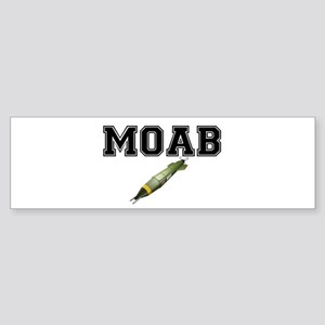 MOAB - MOTHER OF ALL BOMBS Bumper Sticker