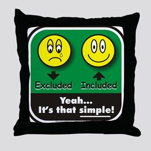 It's That Simple! Throw Pillow