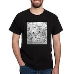 Reindeer Poker Games Dark T-Shirt