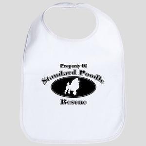 Property of Standard Poodle R Bib