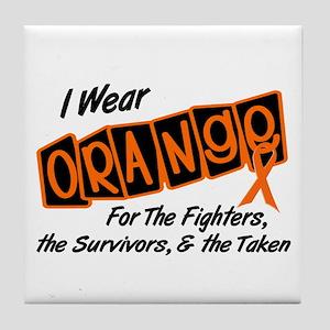 I Wear Orange For Fighters Survivors Taken 8 Tile