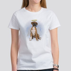 Angel Boxer Puppy Women's T-Shirt