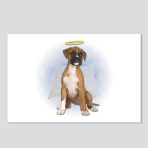 Angel Boxer Puppy Postcards (Package of 8)
