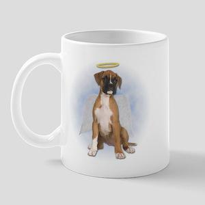 Angel Boxer Puppy Mug
