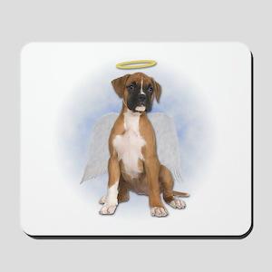 Angel Boxer Puppy Mousepad