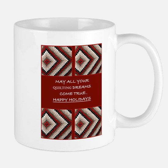 Quilting Christmas Mug