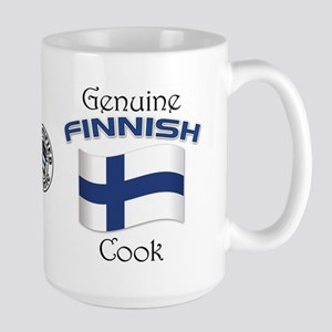 Genuine Finnish Cook Large Mug