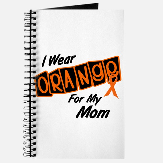 I Wear Orange For My Mom 8 Journal
