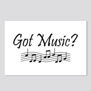 Got Music? Postcards (Package of 8)