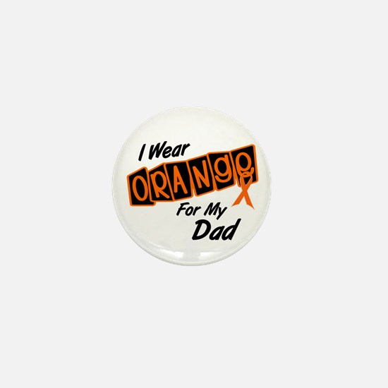I Wear Orange For My Dad 8 Mini Button