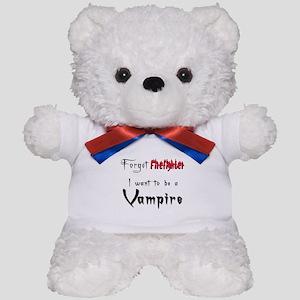 Vampire- Firefighter Teddy Bear