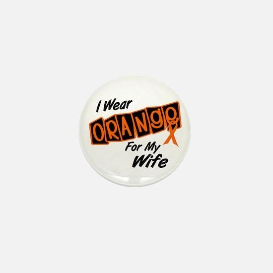 I Wear Orange For My Wife 8 Mini Button