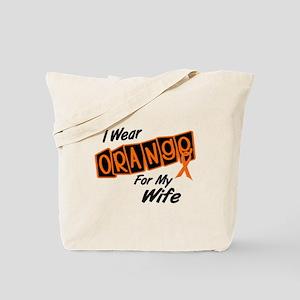 I Wear Orange For My Wife 8 Tote Bag
