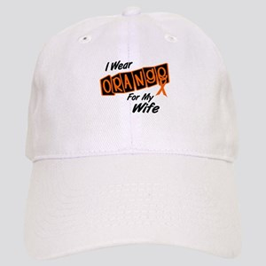 I Wear Orange For My Wife 8 Cap