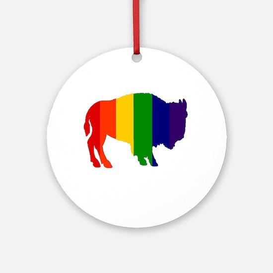 Buffalo Pride Ornament (Round)