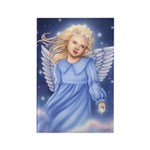 Angel of the Air Rectangle Magnet