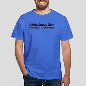Language Of Love Dark T-Shirt